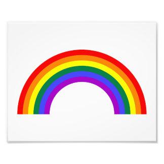 Forma del arco iris fotografía