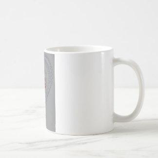 Forma del corazón del amor taza de café