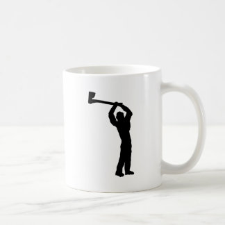 forma del leñador taza