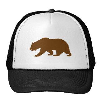 Forma del oso gorras