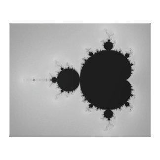 Forma determinada del fractal de Mandelbrot Impresion De Lienzo