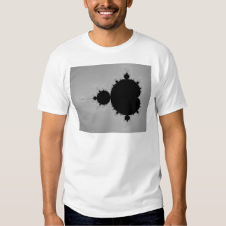 Forma determinada del fractal de Mandelbrot Remeras