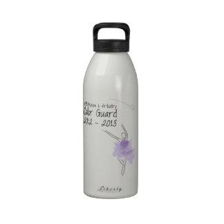 Forma física y arte de SABRE del guardia de honor Botella De Agua