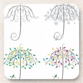 Forma Tree2 del paraguas Posavaso