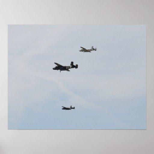 Formación B-25 Impresiones