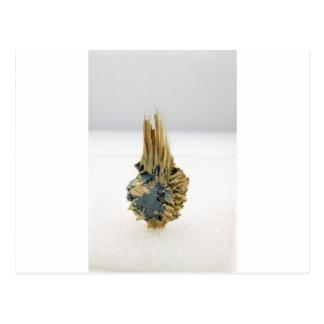 Formación cristalina curativa del hematites tarjetas postales