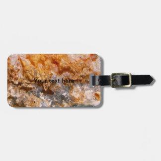 Formación cristalina etiquetas bolsa