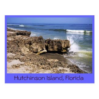 Formación de Anastasia, isla de Hutchinson, la Flo Postal