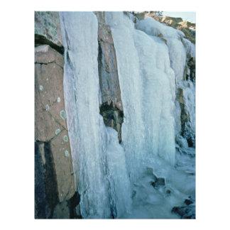 Formación de hielo tarjeton