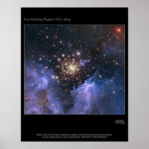 Formación de la estrella póster