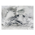 Formación de la nube sobre el Mar Negro Cojinete