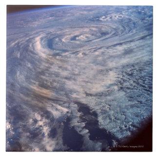 Formación de la tormenta azulejo cuadrado grande