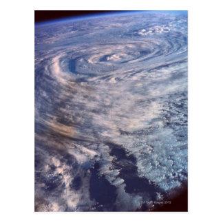 Formación de la tormenta tarjetas postales