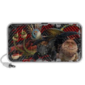 Formación de los héroes del dragón mp3 altavoz