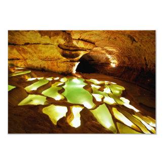 Formación de Rimstone en cuevas Invitacion Personal