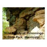 Formación de roca de Tishomingo II Postales