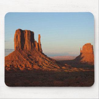Formación de roca del desierto de Utah del valle Tapete De Ratón