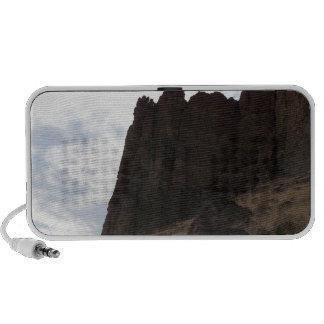 Formación de roca iPod altavoz