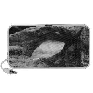Formación de roca presentimiento iPod altavoz