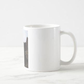 Formación de roca taza de café