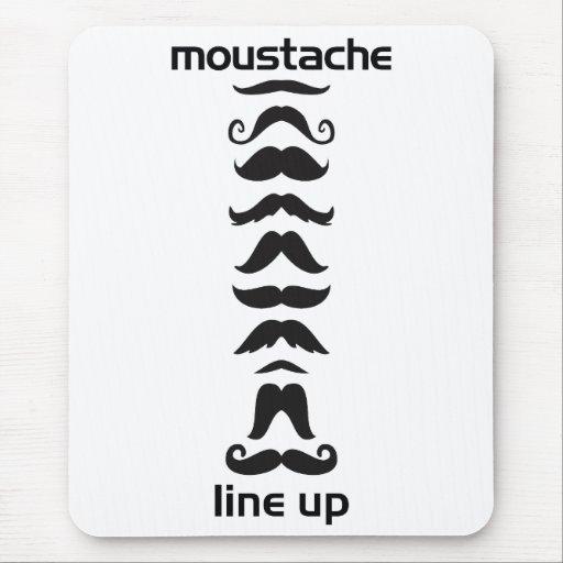 Formación del bigote mousepads