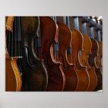 Formación del violín poster