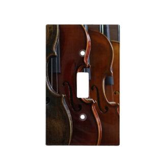 Formación del violín cubiertas para interruptor