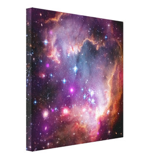 Formación estelar de NGC 602 Impresión En Lona