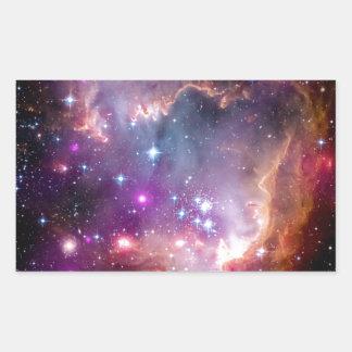 Formación estelar de NGC 602 Pegatina Rectangular