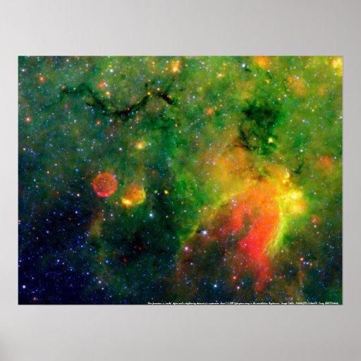 Formación estelar y nebulosa IRDC G11.11-0.11 de l Poster