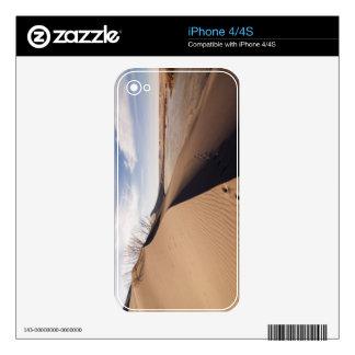 Formaciones de la duna de arena. Parque de estado  Calcomanía Para iPhone 4S