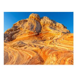 Formaciones de la piedra arenisca en el bolsillo postales