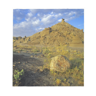 Formaciones de los Badlands en el parque provincia Libreta Para Notas