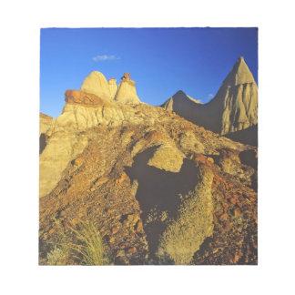 Formaciones de los Badlands en el parque provincia Libretas Para Notas