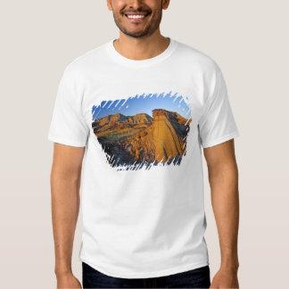 Formaciones de los Badlands en el parque Remera