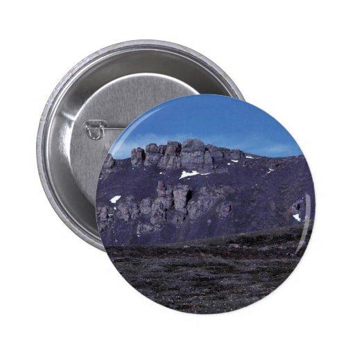 Formaciones de roca del basalto pin