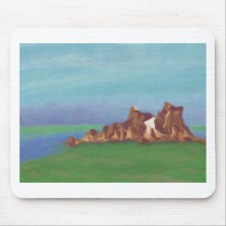 Formaciones de roca del lago, Mousepad