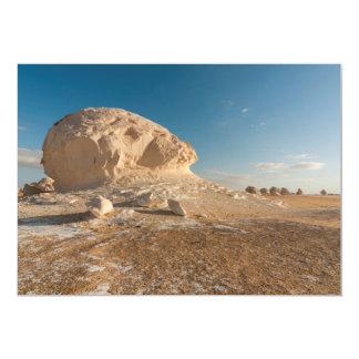 Formaciones de roca, desierto blanco, Egipto Invitación Personalizada