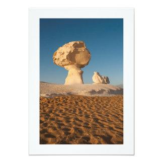 Formaciones de roca, desierto blanco, Egipto Comunicado Personal