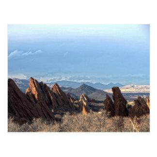 Formaciones de roca - parque de estado de Roxborou Tarjetas Postales