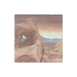 Formaciones de roca, valle del parque de estado imán de piedra