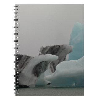 Formaciones del iceberg libretas