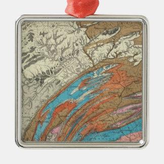 Formaciones geológicas de Penn Adornos De Navidad