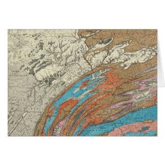 Formaciones geológicas de Penn Tarjeta De Felicitación