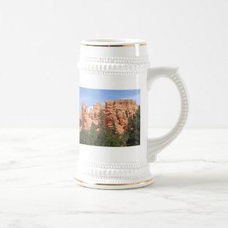 Formaciones geológicas impresionantes en el barran tazas de café
