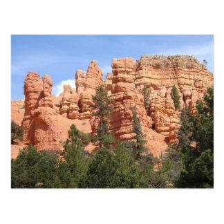 Formaciones geológicas impresionantes en el tarjetas postales