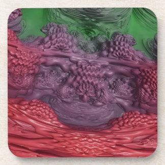 Formaciones líquidas abstractas: posavaso