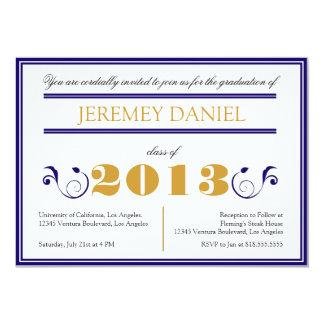Formal 2013 - Blue & Gold Graduation Card