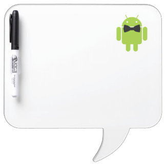 Formal Atire Android Robot Dry-Erase Whiteboard