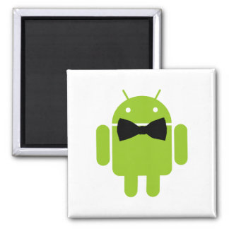 Formal Atire Android Robot Fridge Magnet